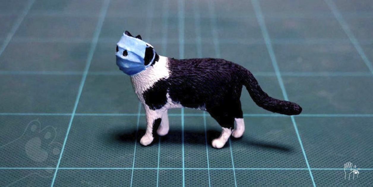 mini-esculturas de animales